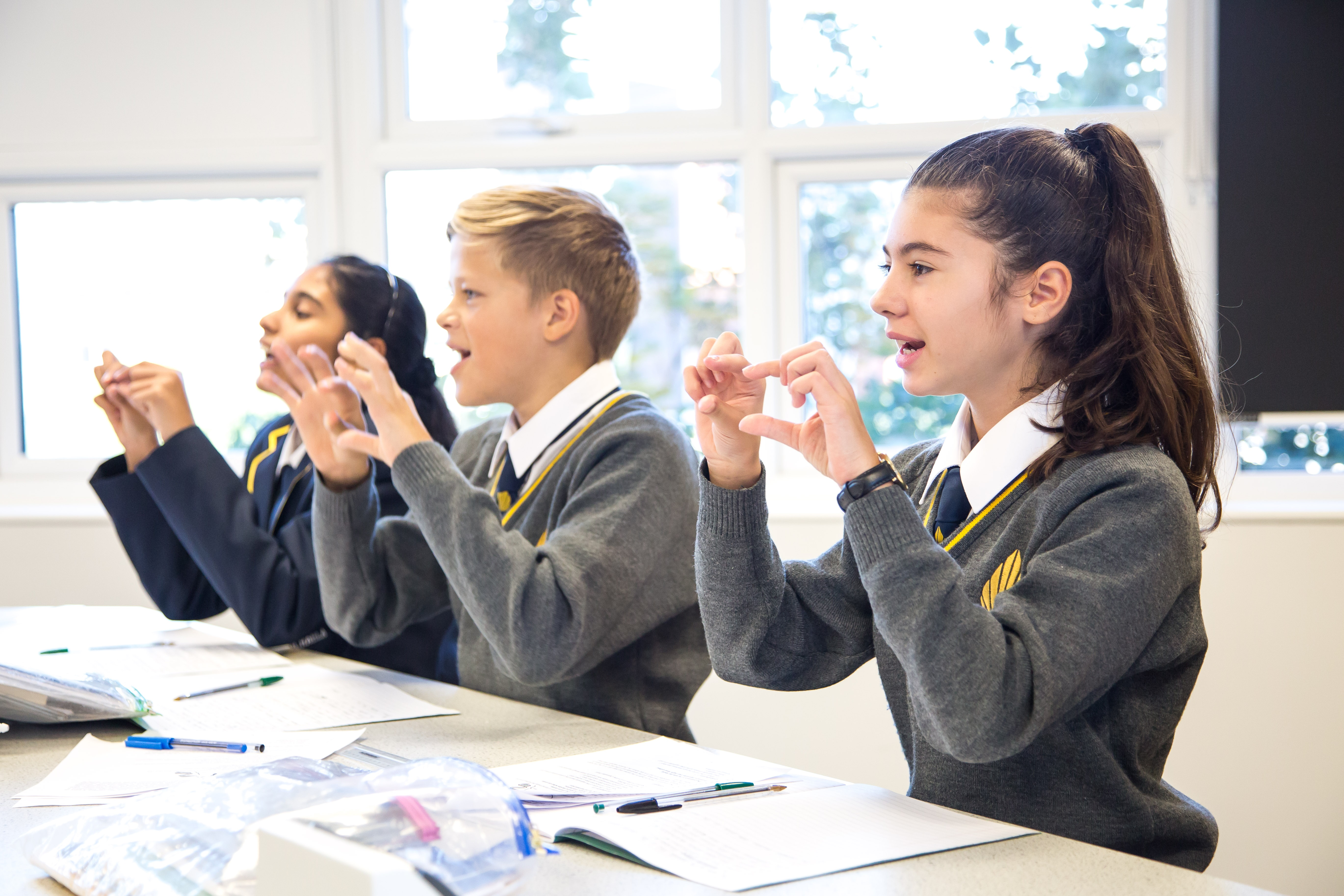Pupils at Michaela Community School study a knowledge-based curriculum.